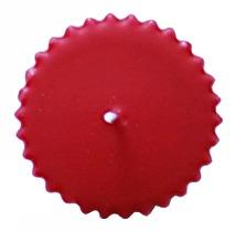 RILL Blockljus 70x100 mm Röd