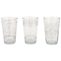 Ib Laursen Ljuslykta i glas klar set om tre