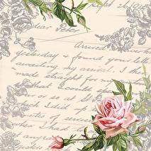 Ambiente Servetter - Love letter