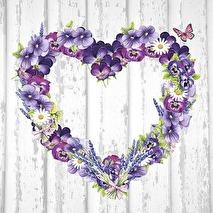 Ambiente Servetter - Purple Heart