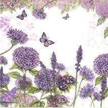 Ambiente Servetter - Purple wildflowers