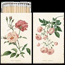 Sköna Ting, tändstickor rosa rosor