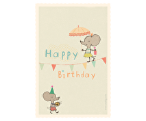 Kort - Maileg mouse (Happy birthday)