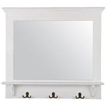 Ib Laursen Spegel med hylla och 3 krokar