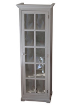 Skåp maison med glasdörr