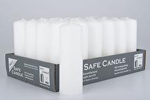Värmeljus vitt, högt säkerhetsljus