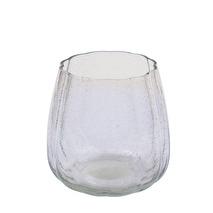 .Miljögården vattenglas/ljuslykta Bubbles