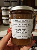 ..Himmelsk marmelad; Rabarber & Ingefära - Börslycke Gård