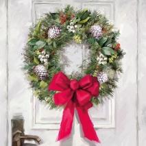 Ambiente Servetter - White Wreath