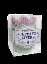 ..Leilas General Store - Muffinsformar Flower (rosa/Mint) - Beställningsvara