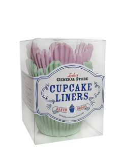 ..Leilas General Store - Muffinsformar Flower (rosa/Mint)
