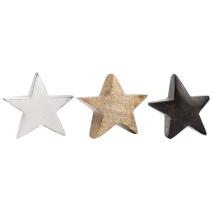 Dekorationsstjärna i trä, Ib Laursen (3 olika)