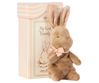 ..Maileg, My first bunny in box (rosa)