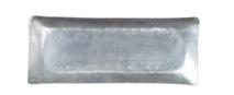 Affari fat i nickelplätterad mässing, Lyra Silverfärgat