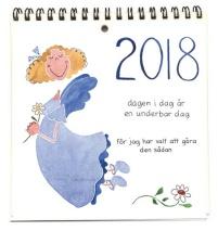 ..Kalender Änglar 2018, för bord