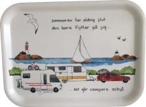Bricka i björkfanér, Camping (TJ Produktion)