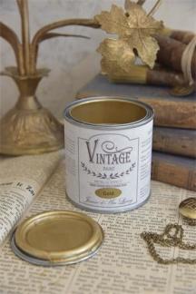 Jeanne d´Arc Living Vintage Paint - Guld metall