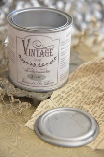 Jeanne d´Arc Living Vintage Paint - Silver metall