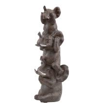 .Elefantfamilj Staty, Miljögården