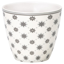 GreenGate Latte Mugg Laurie White