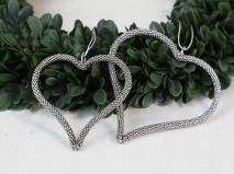 Chic Antique Hjärta i antiksilver