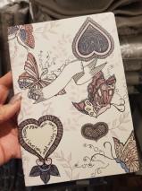 Odd Molly Anteckningsbok, linjerad