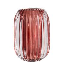 .Vega ljuslykta i glas, röd (Stor)