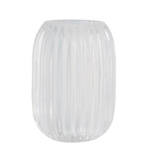 .Vega ljuslykta i glas, vit (Stor)