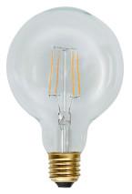 LED lampa, dekoration, klar filament (E27)