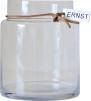 ..ERNST Glasvas, rak H 22,5cm