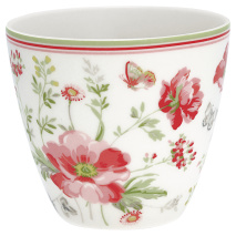 ...GreenGate Lattemugg Meadow White