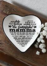 Maja, Mamma hjärtformat fat - Förhandsbeställning