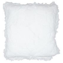 GreenGate Kuddfodral Flower White White 50x50cm