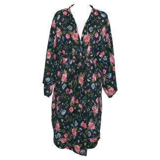 ..GreenGate Kimono Meadow Black