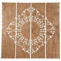 Carve Tempeltavla , Natur XXL (180x180 cm) - Beställningsvara