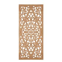 Carve Tempeltavla, Natur/guld (80x180cm) - Beställningsvara