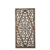 Carve Tempeltavla, Svart/guld (80x160cm) - Beställningsvara