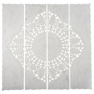 Carve Tempeltavla , Vit XXL (180x180 cm) - Beställningsvara
