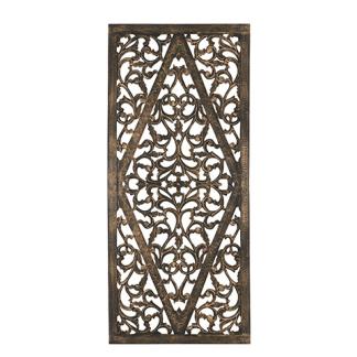 Carve Tempeltavla, Svart/guld (80x180cm) - Beställningsvara