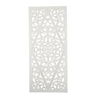 Carve Tempeltavla, Vit (80x180cm) - Beställningsvara