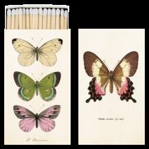 Sköna Ting, tändstickor Fjärilar