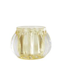 .Vega ljuslykta i glas, gul (liten)
