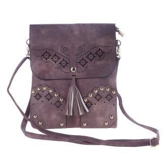 ..Väska Lizzie, mörk gammelrosa