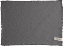 ..ERNST tablett grå med fransar