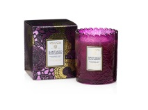.Voluspa Scalloped Edge Candle - Santiago Huckleberry