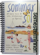 ..Anteckningsbok/dagbok Sommar / Semesterminnen (TJ Produktion)