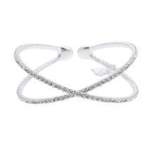 Gemini Armband silverfärgat med strass