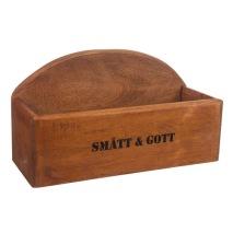 ..Brun låda