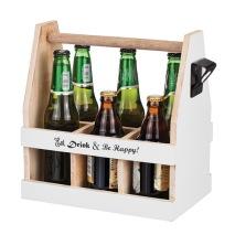 ..Låda till 6 flaskor, inkl kapsylöppnare - Eat, drink & be happy!