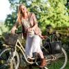 ...Perstorps väska, Cykelkorg - Magenta